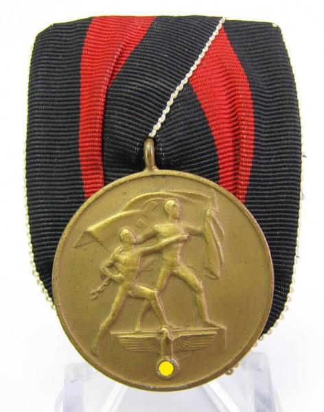 Medaille 1. Oktober 1938 an Einzelspange
