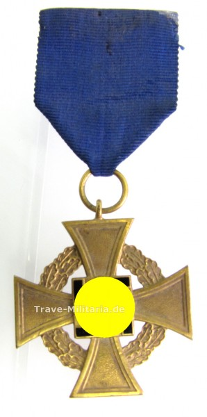 Treuedienstehrenkreuz für 40 Jahre