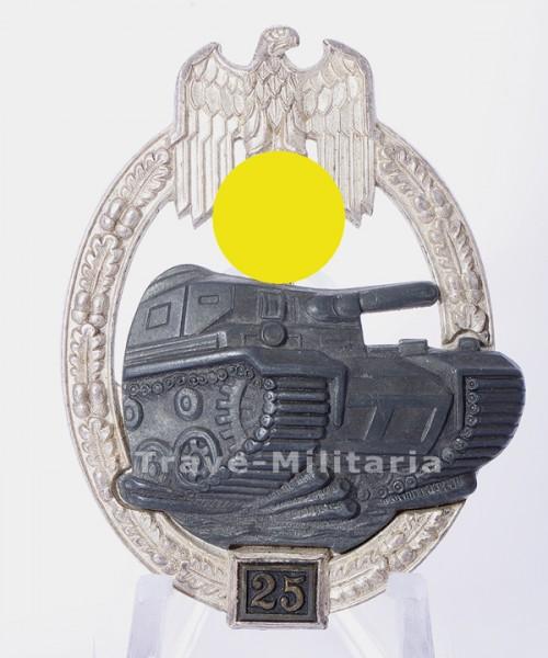 Panzerkampfabzeichen in Silber 2. Stufe