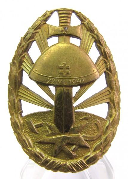 Slowakai Erinnerungsabzeichen für den Feldzug gegen die Sowjetunion 3. Stufe