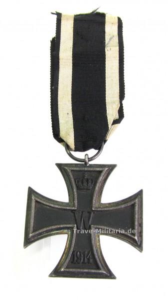 Eisernes Kreuz 2. Klasse 1914 am Band mit Hersteller