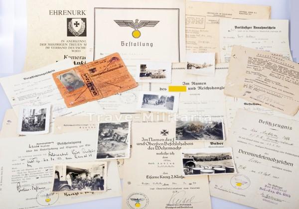Urkunden-Nachlass Infanterie-Regiment Großdeutschland