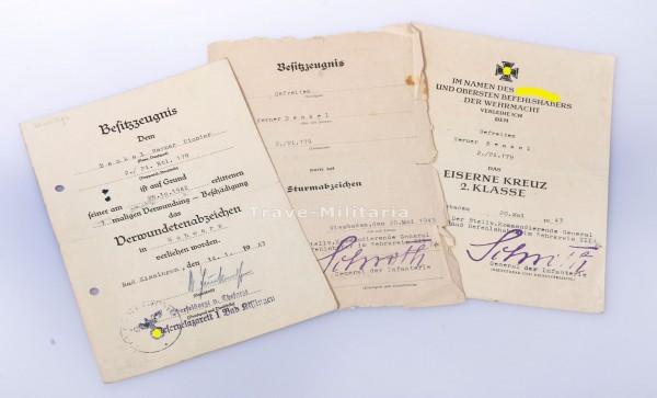 Urkundengruppe Pi-Btl- 179, Stalingrad