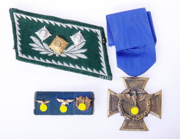 Zollgrenzschutz-Ehrenzeichen mit 3er Feldspange