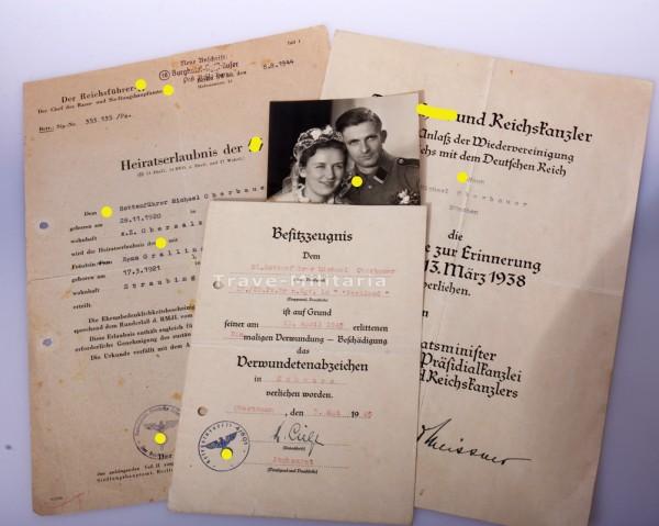 Papiergruppe SS- Rottenführer Oberbauer ``Westland´´