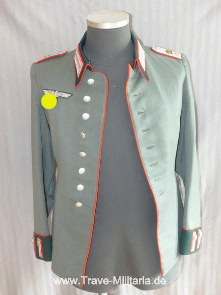 Wehrmacht Parade-Waffenrock für einen Leutnant der Beobachter-Abteilung 6