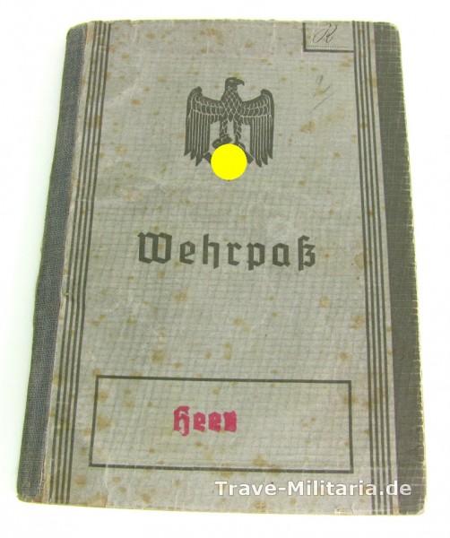 Wehrpass Oberleutnant I.R.278