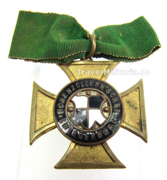 Hohenzollern`scher Kriegerbund-Kreuz