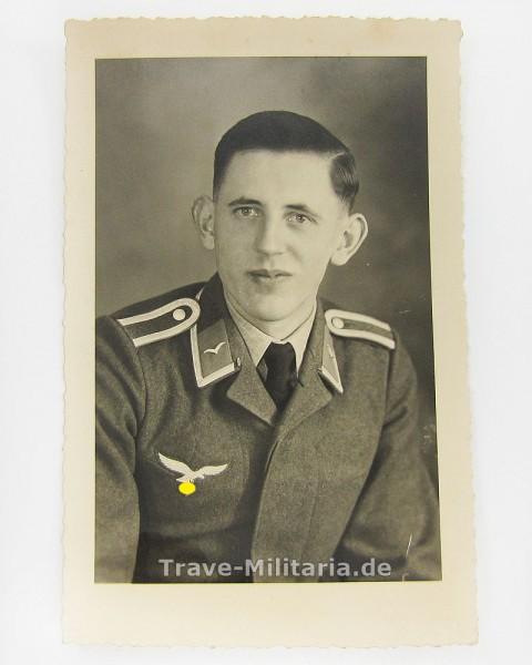Portraitfoto Unteroffizier der Luftwaffe