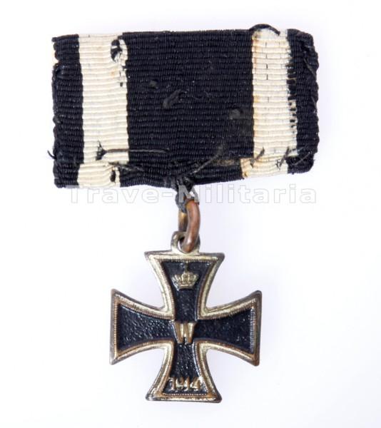 Miniatur Eisernes Kreuz 1914 am Band