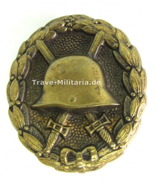 günstiges Verwundetenabzeichen 1918 - Schwarz
