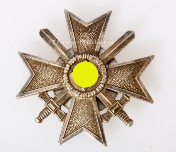 Kriegsverdienstkreuz 1. Klasse 1939 an Schraubscheibe mit Schwertern
