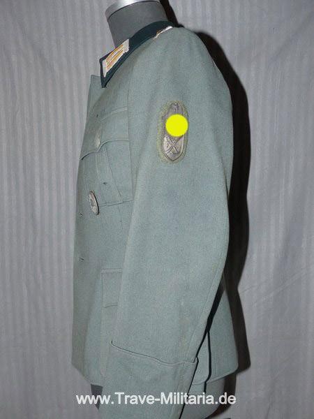 Wehrmacht Heer Feldbluse für einen Hauptmann der Aufklärungsabteilung 3 in der 3. Gebirgsjäger Divis