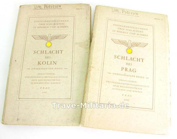 Einzeldarstellungen über Schlachten in Böhmen und Mähren Heft 1 und 2