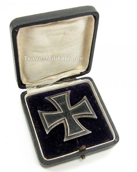 Eisernes Kreuz 1. Klasse 1914 im Etui von S-W Wagner