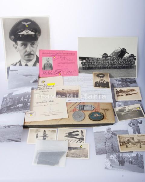 Kleiner Papier-Flieger-Nachlass Gerlach