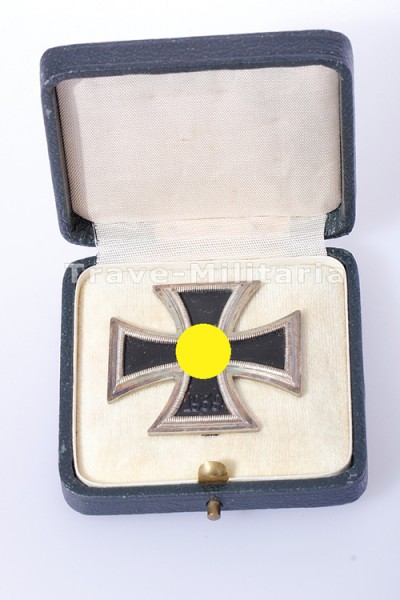 Eisernes Kreuz 1. Klasse 1939 im grünen Etui