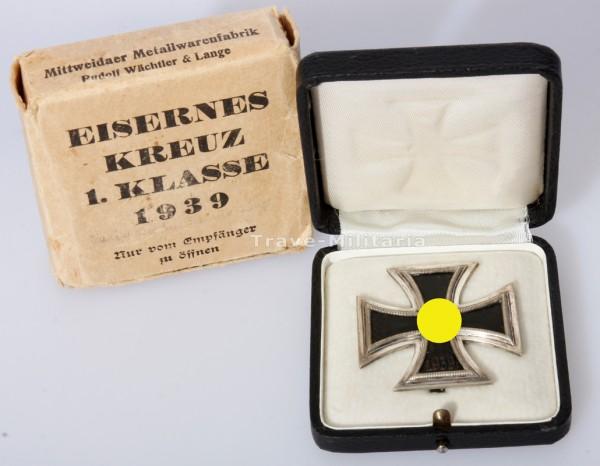 Eisernes Kreuz 1. Klasse im Etui mit Umkarton
