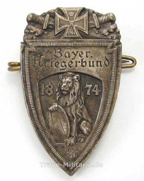 Bayerischer Kriegerbund Abzeichen 1874