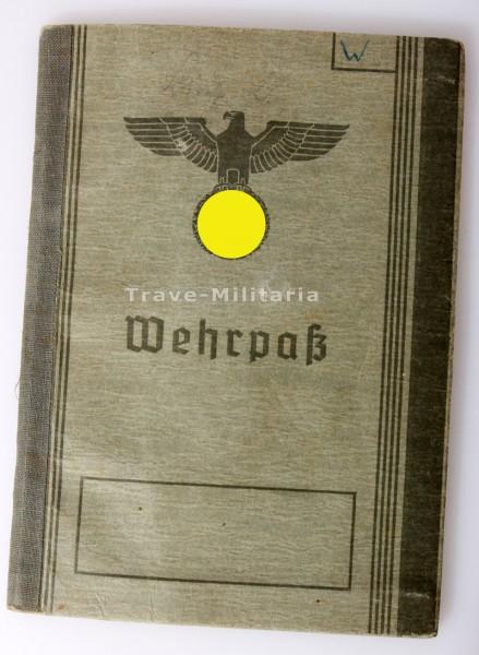 Wehrpaß Wiesinger I.R. 449 und I.R. 523 gefallen 1942