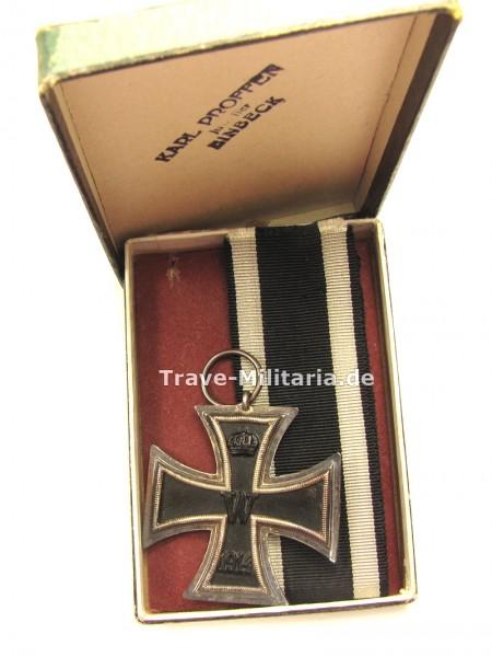 Eisernes Kreuz 2. Klasse 1914 im Pappetui