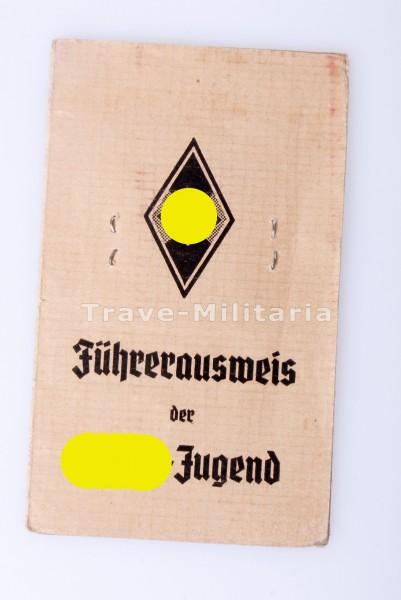 Führerausweis der Hitler-Jugend