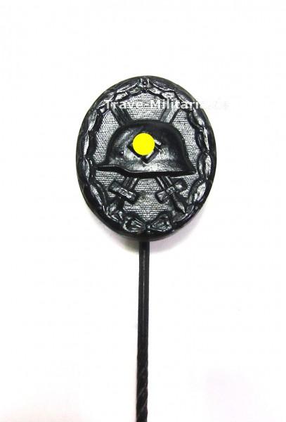 Miniatur zum Verwundetenabzeichen in Schwarz