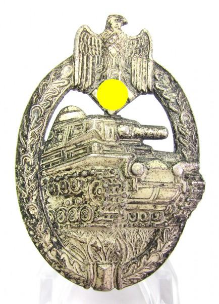 Panzerkampfabzeichen in Silber Hersteller AS im Dreieck
