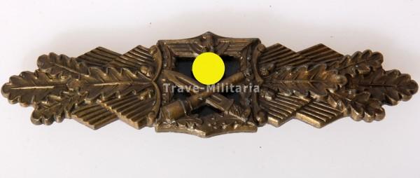 Nahkampfspange in Bronze A.G.M.u.K., Gablonz