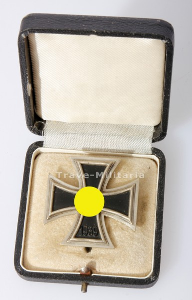 Eisernes Kreuz 1. Klasse 1939 im Etui Deumer L/11