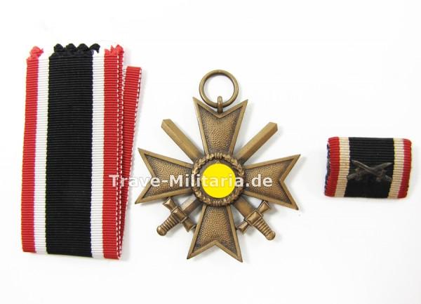 Kriegsverdienstkreuz 2. Klasse mit Schwertern Hersteller 95