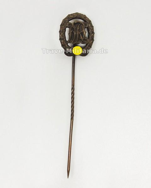 Miniatur DRL Reichssportabzeichen in Bronze