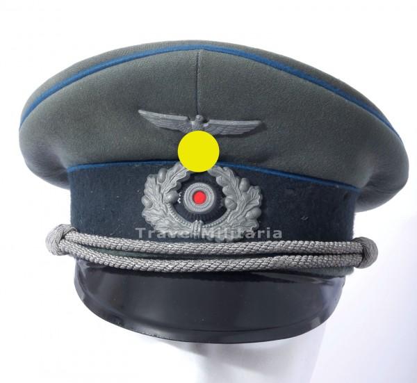 Wehrmacht Heer - Schirmmütze für Sanitätsoffiziere