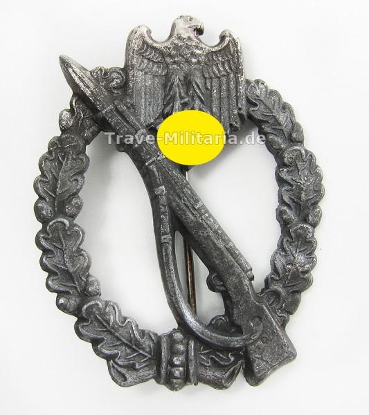 Infanteriesturmabzeichen in Silber Hersteller GWL
