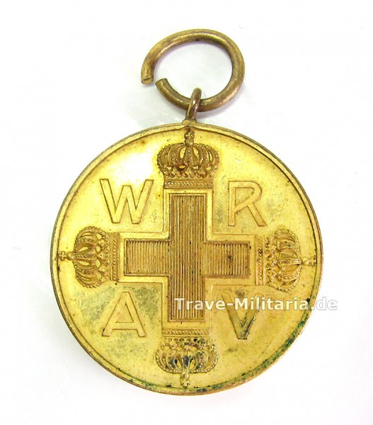 Preußen Rote Kreuz Medaille 3. Klasse 1898