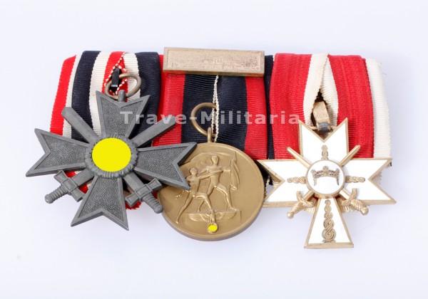 3er Ordensspange mit kroatischem Orden