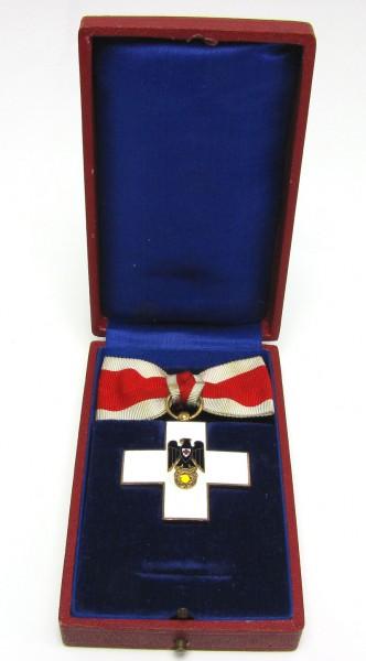 Ehrenzeichen 2. Klasse 1937 - 1939 Damenschleife im Etui - Deutsches Rotes Kreuz - SEHR SELTEN