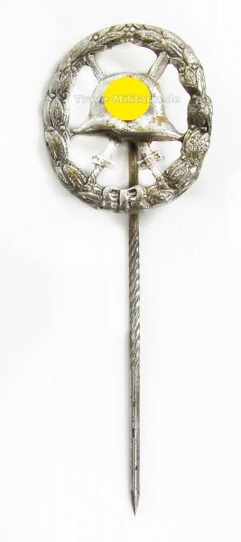 Miniatur Verwundetenabzeichen in Silber 1. Form durchbrochen