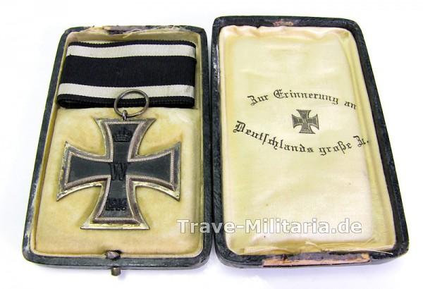Eisernes Kreuz 2. Klasse 1914 im Etui