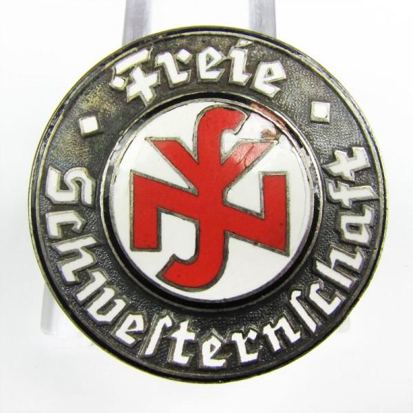 Brosche Reichsbund der Freien Schwestern und Pflegerinnen, 1. Form