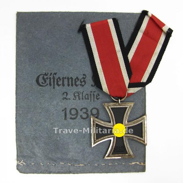 Eisernes Kreuz 2. Klasse mit Verleihtüte Gottlieb & Wagner