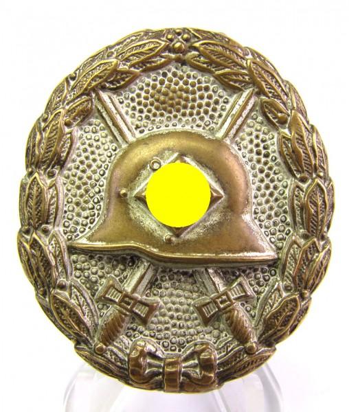 Verwundetenabzeichen Silber Legion Condor Buntmetall