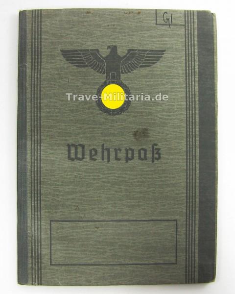 Wehrpaß Wilhelm von Glahn