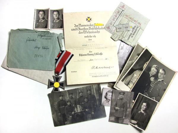 Nachlass Schäfer Urkunden, Orden, Pionier - Bataillion 263