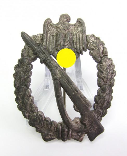 Infanteriesturmabzeichen in Silber massiv Hersteller JFS
