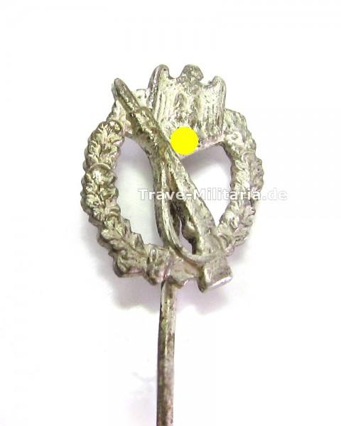 Miniatur Infanteriesturmabzeichen in Silber