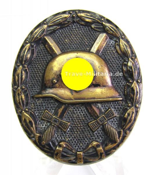Verwundetenabzeichen Schwarz 1939 aus Buntmetall