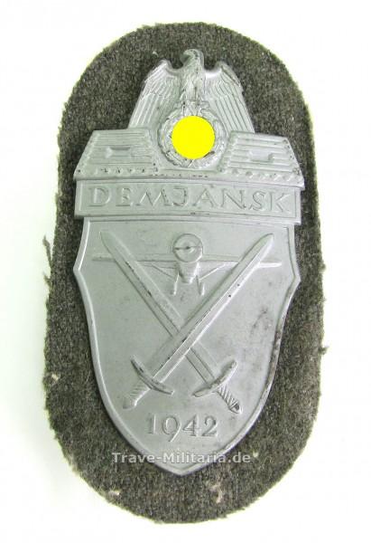 Demjanskschild 1942 auf Stoff