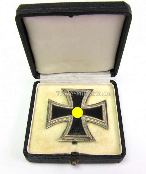 Eisernes Kreuz 1. Klasse 1939 im Etui, Deumer L/11, Traumset! Iron Cross