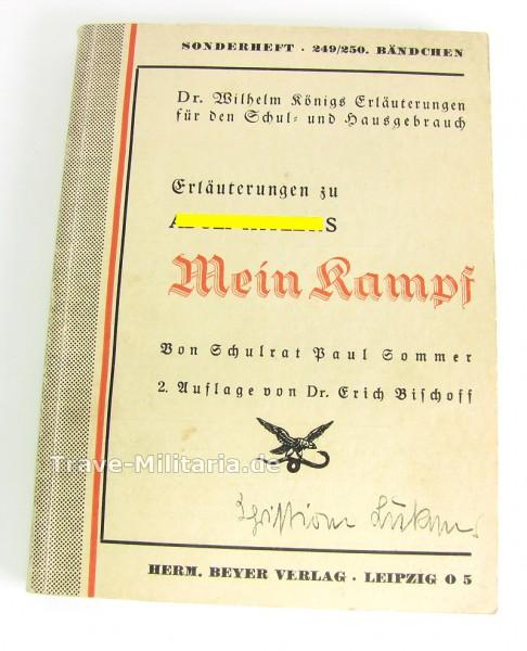 Erläuterungen zu Adolf Hitlers Mein Kampf